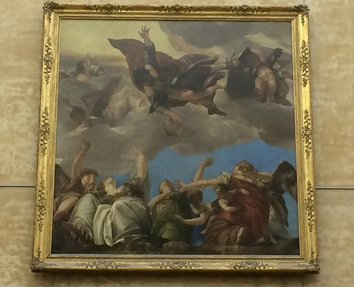St Mark and the Virtues by Veronese