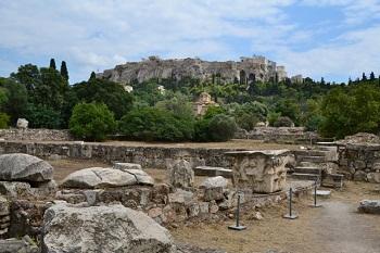 A church stood still in Agora