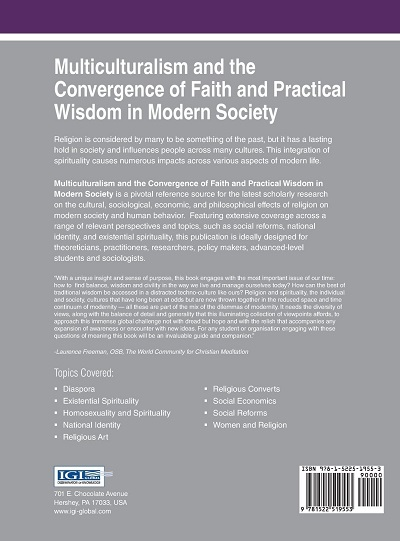 Multiculturalism and the Convergence of Faith - cover