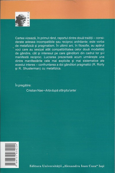 Pragmatismul - back cover